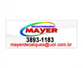 Decalcomanias Mayer